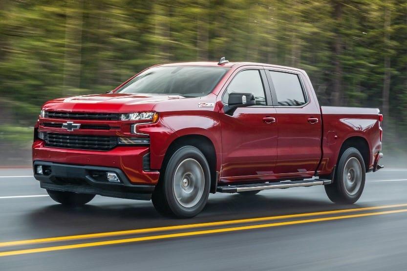 chevy truck models list