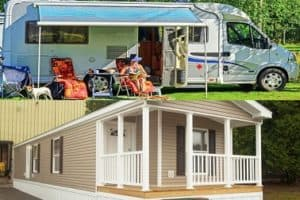 Read more about the article RV vs Mobile Home – What's the Difference Between Them?