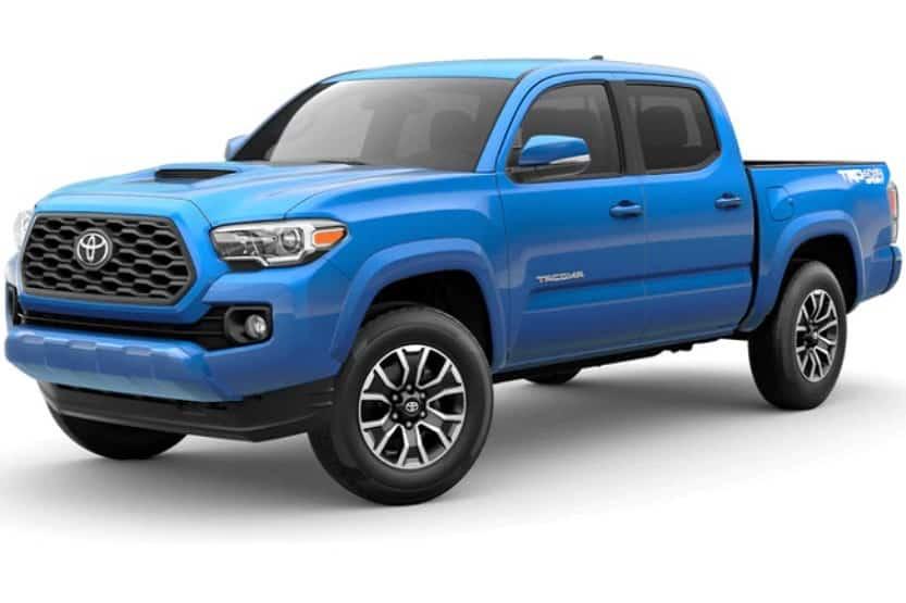 pickup truck models of toyota