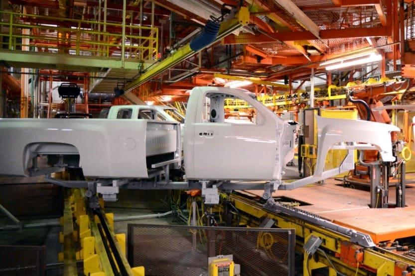 where are chevy silverado trucks made