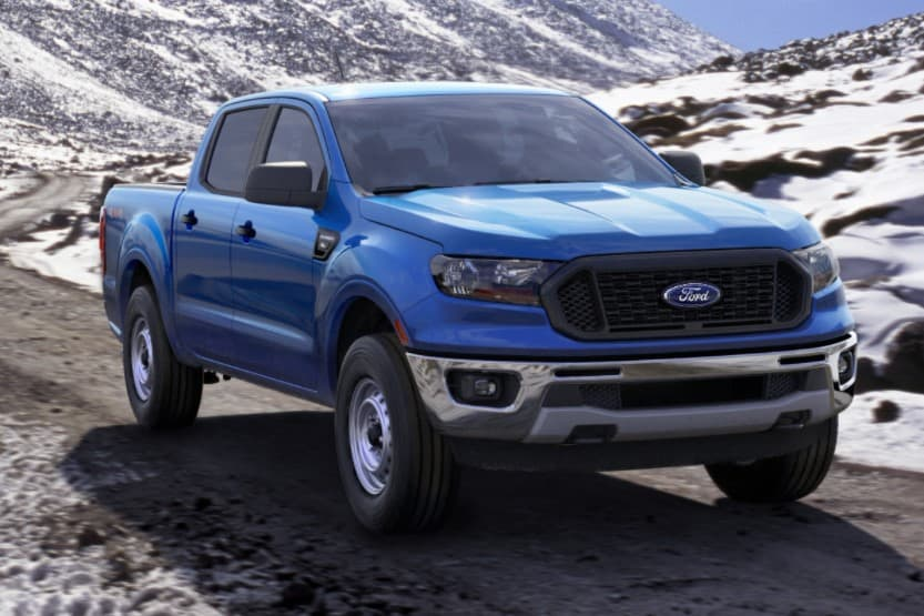 ford ranger curb weight