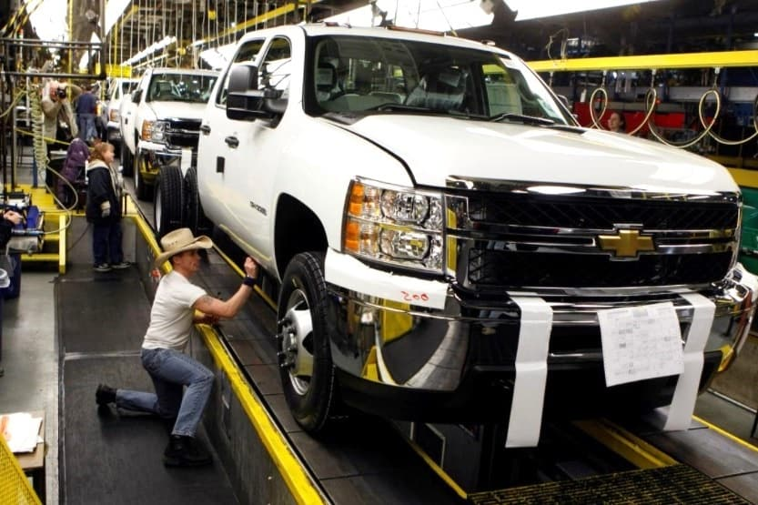 where are chevy trucks made
