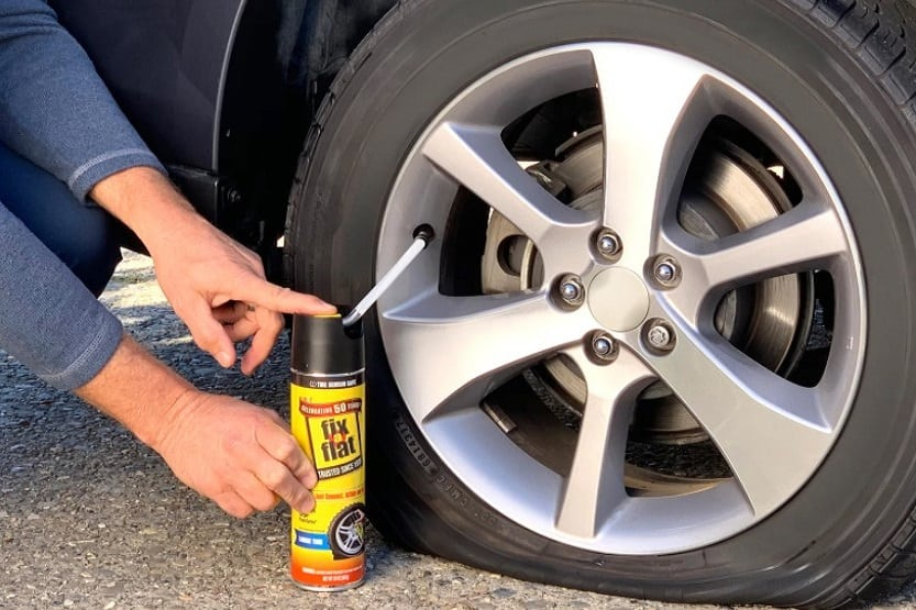 how long does fix a flat last in a tire