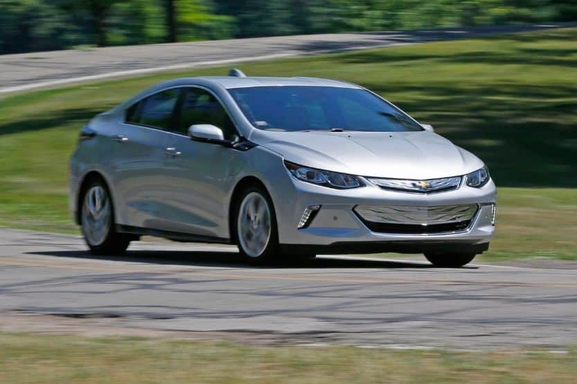 how long does it take to charge a Chevy Volt