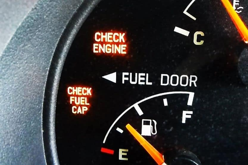 check fuel cap