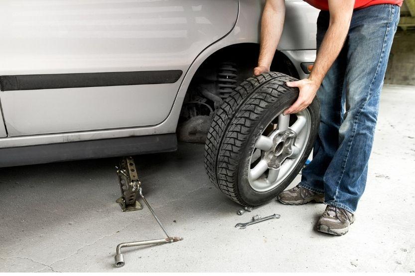 screw in tire no leak