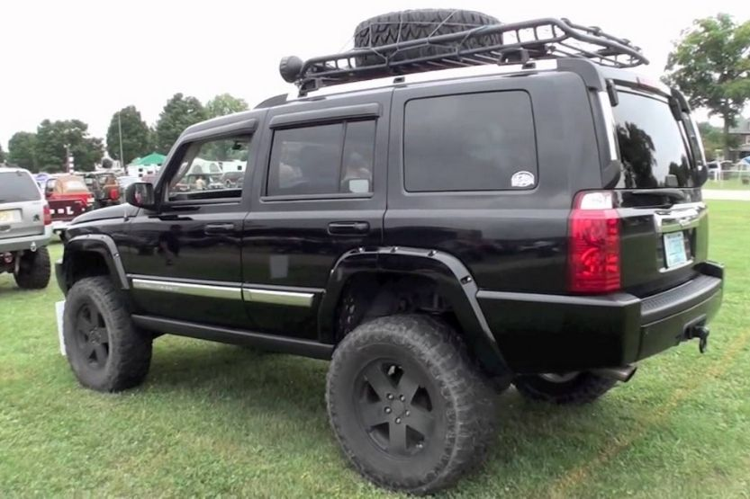 Jeep commander lifted
