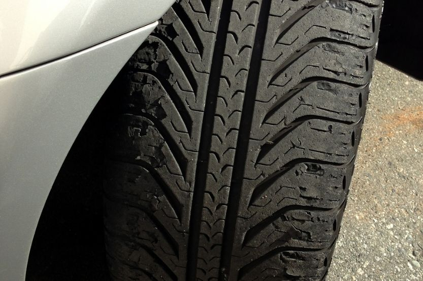 Feather Edge Tire Wear