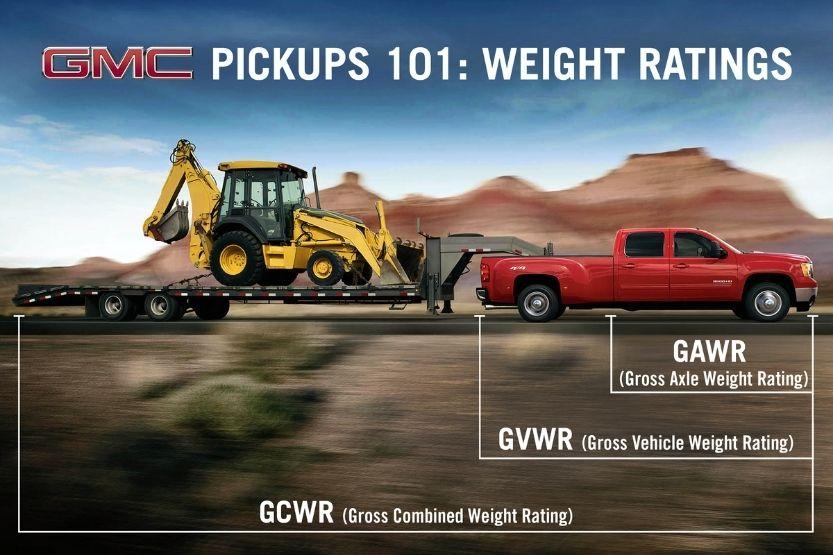 pickup truck weight