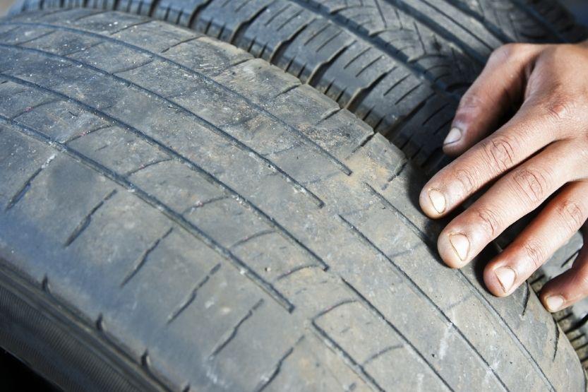 Tire Tread Wear on the Center