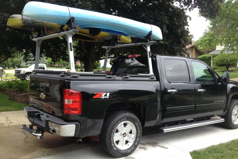 Canoe Rack for Trucks [10 Best Canoe Racks]