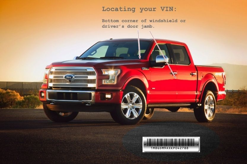 ford build sheet by vin