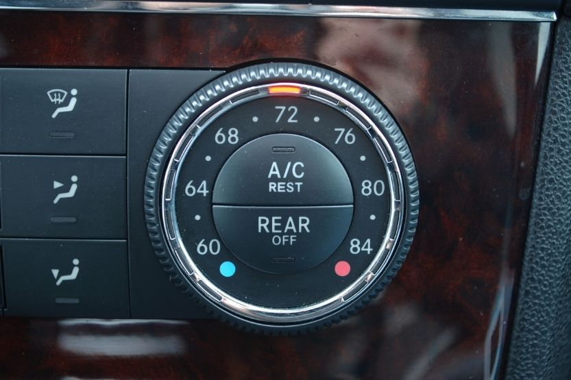mercedes air conditioning reset