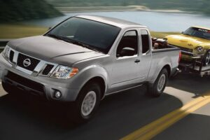 Read more about the article Nissan Frontier Towing Capacity [How Much Can It Tow?]