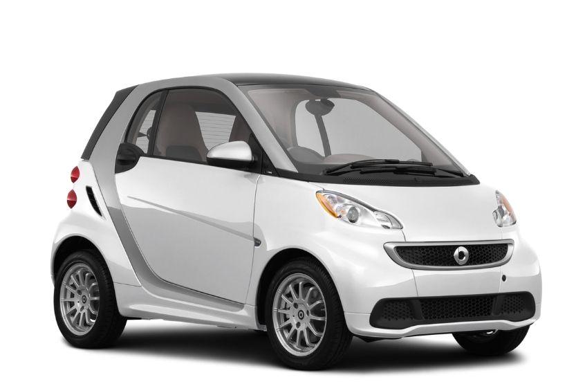 weight of a smart car