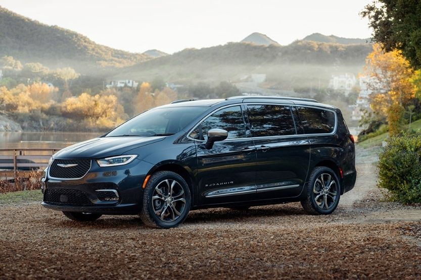 which minivans have second-row stow and go seats